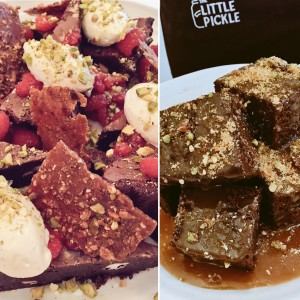 Brownies & Sticky Toffee